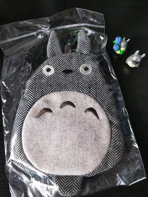 Studio Ghibli_Totoro Zip Pouch with clip hook