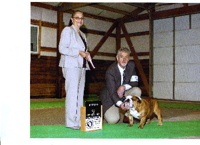 AKC Grand Champion Exact Classic Big Leb