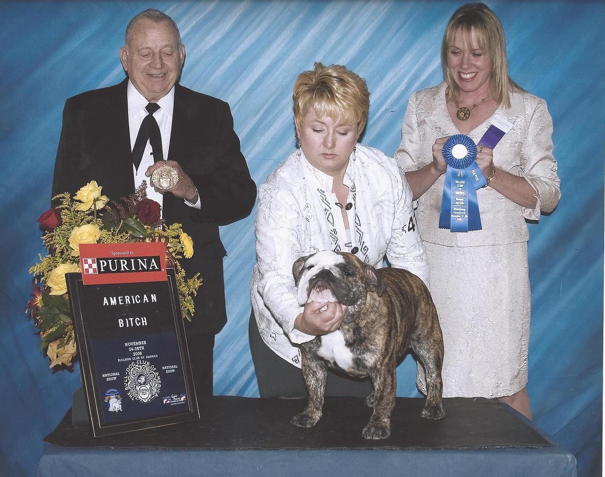 AKC Champion Exact Classic Mad Madeline