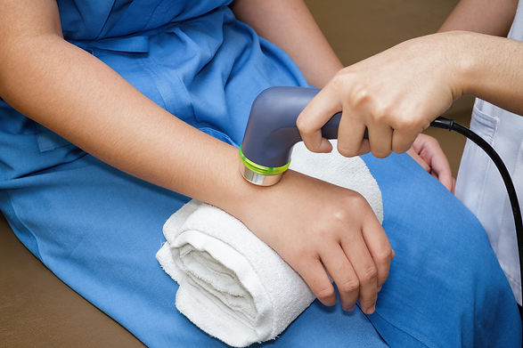 Ultrasound in physical therapy - Therapi
