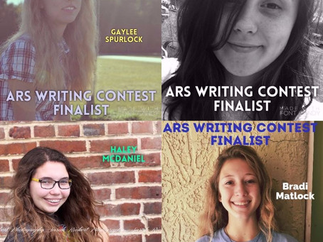 ARS Writing Contest Finalists Named