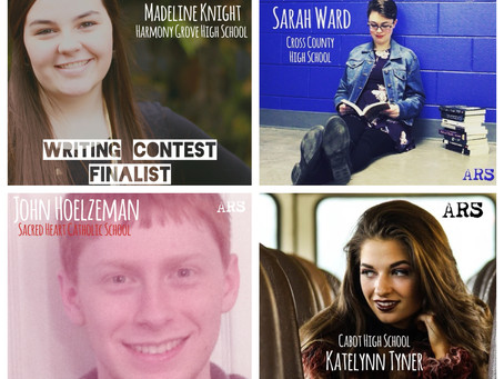 Contest Finalists to Read Saturday Night