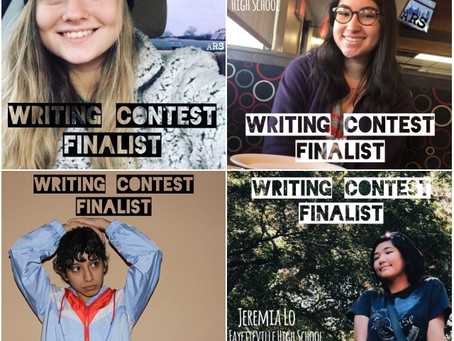 ARS Writing Contest Finalists to Compete for $1,000 Top Prize