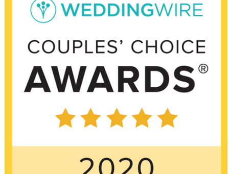 Sweet Lilu's Named Winner in 2020 WeddingWire Couples' Choice Awards®