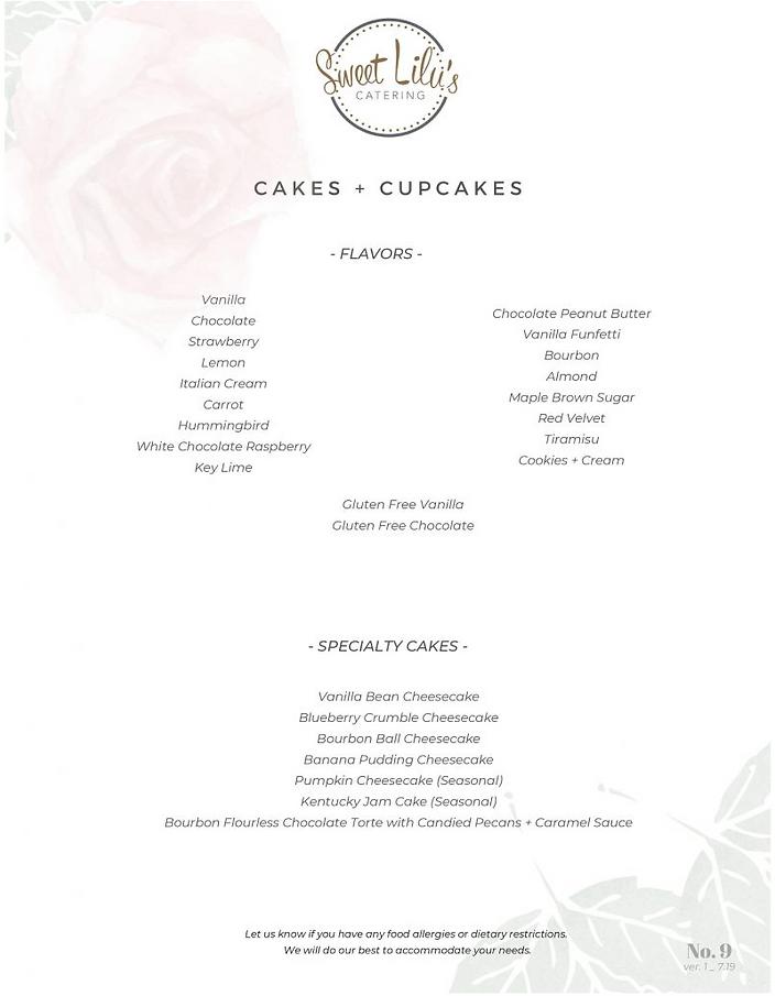Cake + Cupcakes