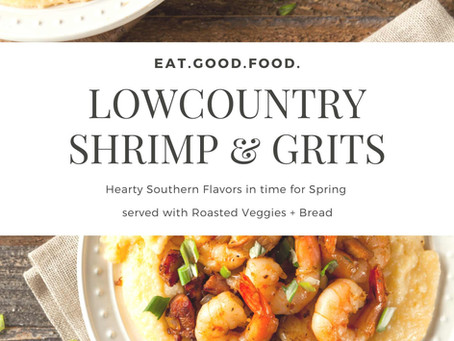 Perfect Southern Comfort Foods: Shrimp & Grits