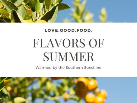 4 Fresh-Picked Flavors for Summer Entertaining
