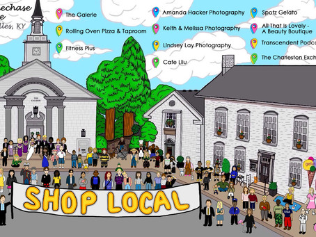 "Woodford County High School Senior, Keelie McClellan, Helps Promote the ""Shop Local"" Momentum"