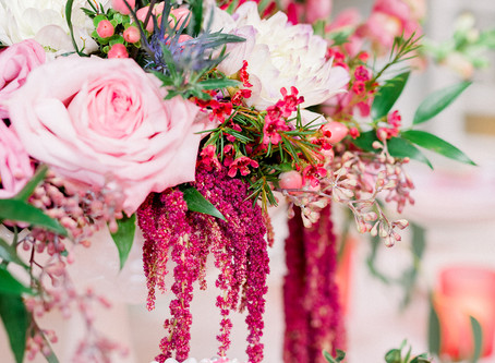 Falling in Love With The Galerie - Valentine's Inspired Wedding