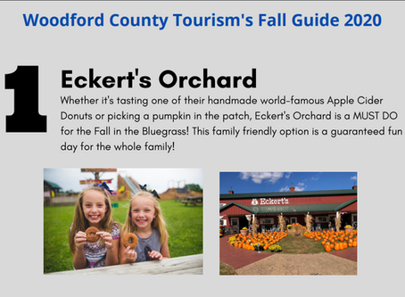 Reserve Woodford Fall Guide Follow-Along 2020! #1 Eckert's Orchard