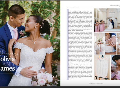 2019 was the TOPS: Sharing Fairytales & Florals with Mr. & Mrs. Wang