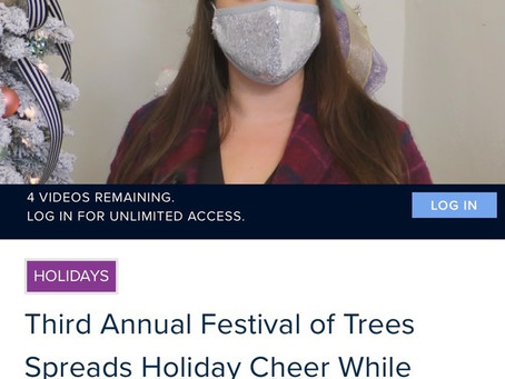 Woodford County Festival of Trees 2020: Treat Tree to Support our Sweet Community!