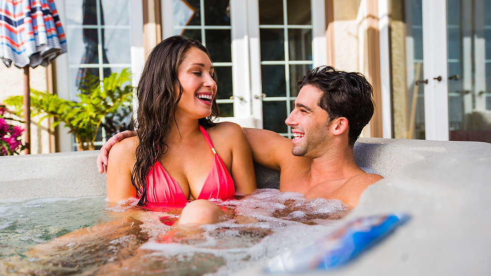 Fantasy Spas Embrace Hot Tub