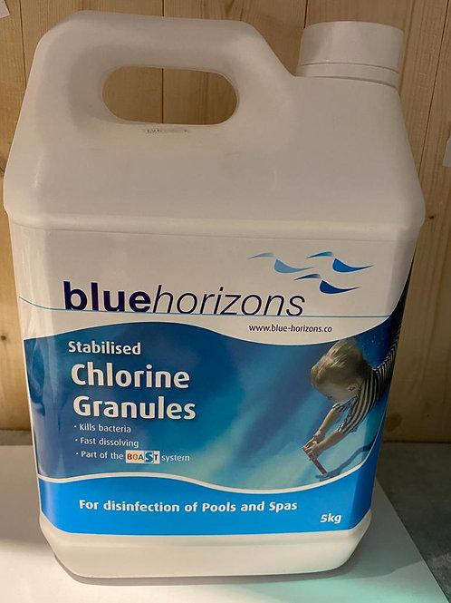 Blue Horizons Chlorine Granules 5kg