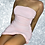 Thumbnail: Pink Strapless Ruched Bodycon Dress
