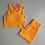 Thumbnail: Orange Seamless Yoga Set