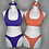 Thumbnail: Khloe Halter Lingerie Set (6 Colours Available)