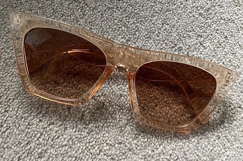 Champagne Retro Sunglasses