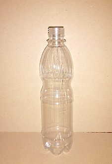 Бутылка ПЭТ 0,5л с крышкой