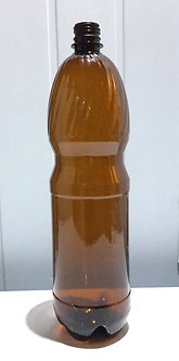 Бутылка ПЭТ темная 1,5л с крышкой