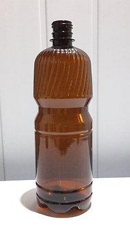 Бутылка ПЭТ темная 1л с крышкой