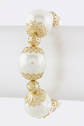 SMALL TO BIG PEARL BRACELET