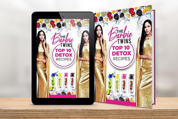 The Barbie Twins | Top 10 Detox Recipe Ebook
