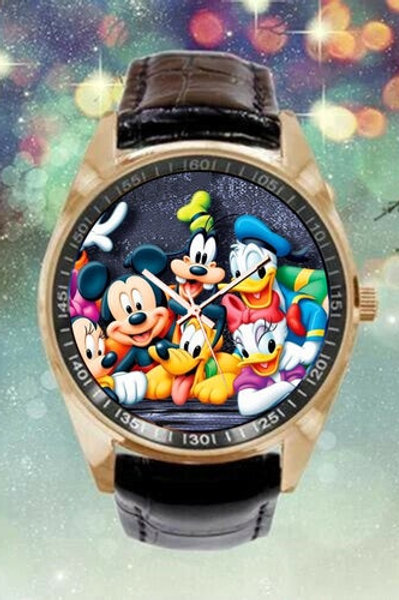 Mickey, Minnie Mouse and Friends Wristwatch