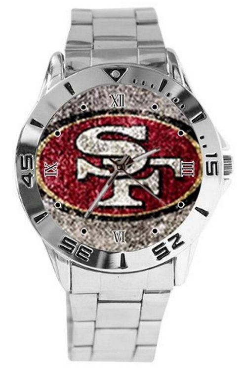 San Francisco 49ers Custom Watch