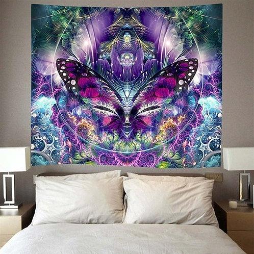 Psychedelic Mandala Wall Hanging Tapestry