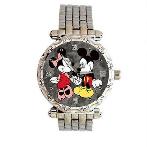 Mickey Minnie love Custom Classic Women's Quartz Analog Watch