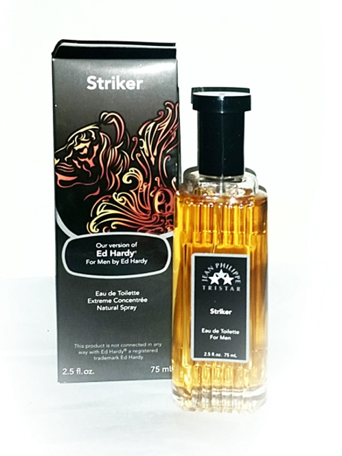 Striker (Ed Hardy Version) by Jean Phillipe Tristar (Men's/2.5oz)