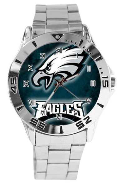 Philadelphia Eagles Custom Sports Watch