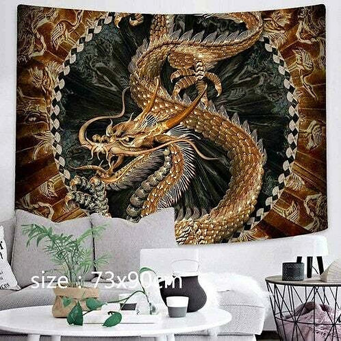 Dragon Wall Hanging Tapestry