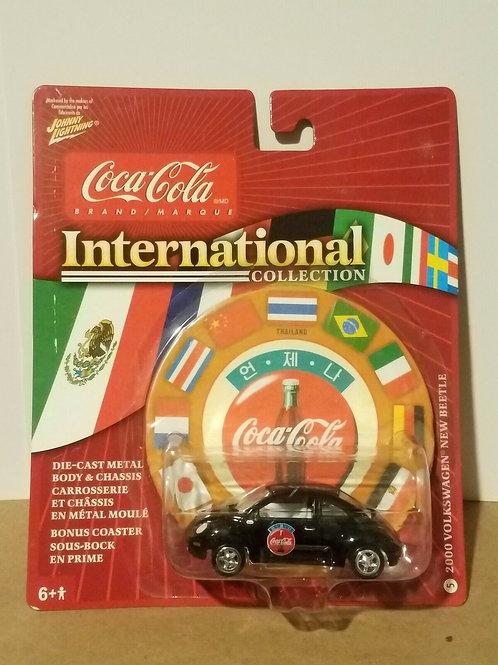 Johnny Lightning 2000 VW Beetle (Thailand) Coca-Cola International Collection