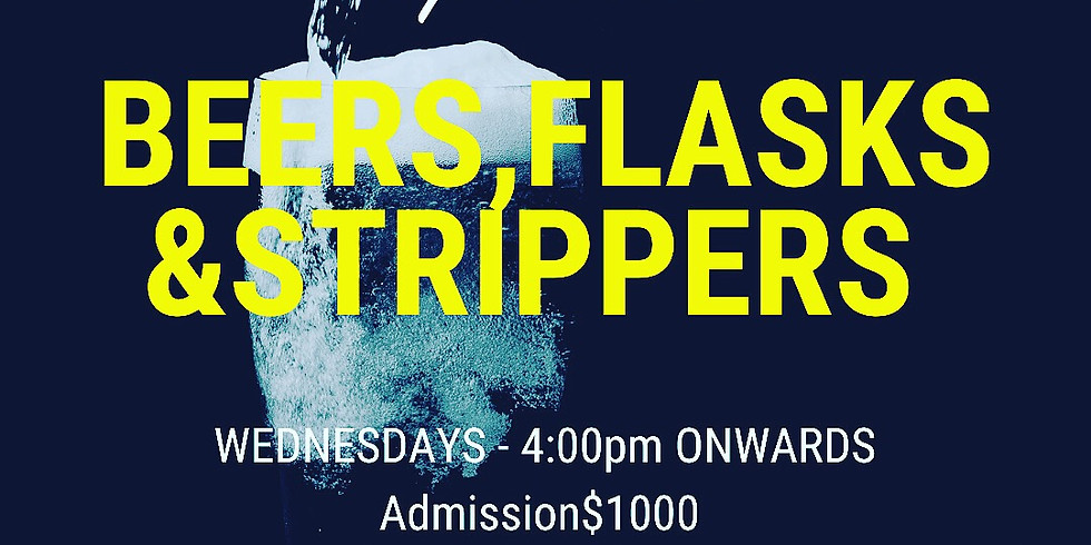 Beer, flasks and Strippers