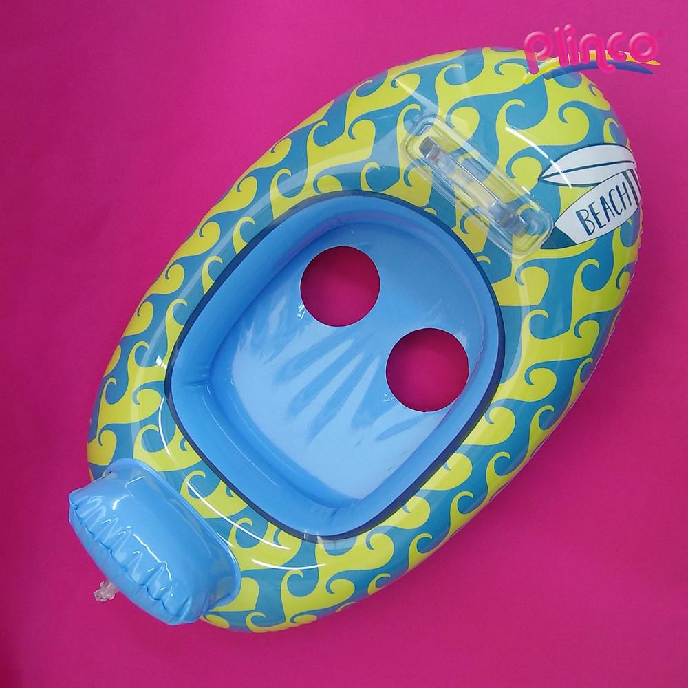 Flortador inflable para niños.