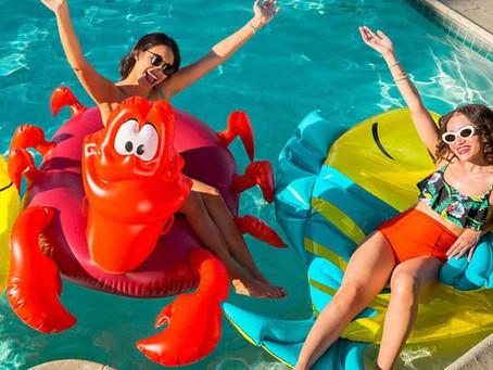Nueva tendencia de flotadores de La Sirenita
