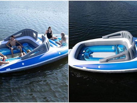 """Crean un  yate inflable """"low cost"""""""