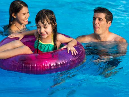 Los flotadores ideales para los niños en verano