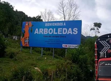 Vallas de Espectaculares en  9 municipios de Norte de Santander