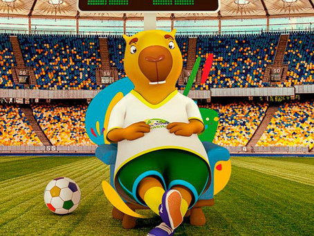 Las mascotas de la Copa América