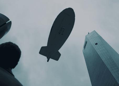 El Zeppelin que aparece  La Casa de Papel