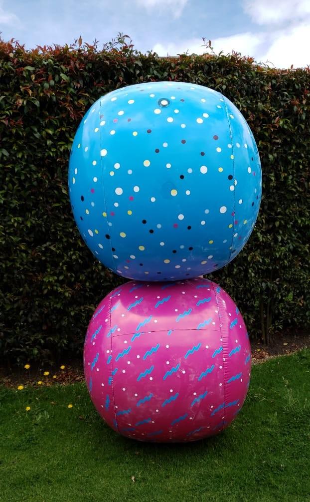 Balones inflables Plinco