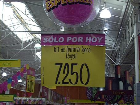 Inflables promocionales en tiendas y supermercados