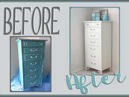 Furniture Makeover: Marina > Jasmine