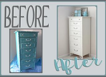 Furniture Makeover: Marina > Jasmine