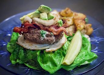 Whole30 JalapeñoAvocado Bacon Burger