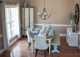 Newlywed Home Tour: Dining Room
