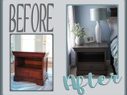 Nightstand Makeover: Rose & Rosa > Harper & Avery